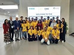 Mahasiswa FTP Unhan Ikuti IEEE International Conference on Computational Intelligence and Knowledge Economy (ICCIKE 2019) di Dubai Arab