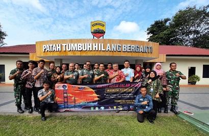 KKDN Mahasiswa FTP Unhan Laksanakan Penelitian ke Dinas Perindustrian dan Perdangangan, Pemkot, Kodim 0316, Lanal dan PT Bandar Abadi di Batam